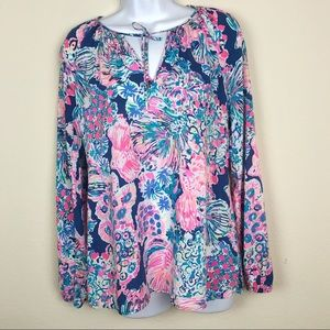 Lilly Pulitzer Willa Tunic Top - Sz. Small